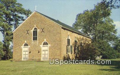 Old Hungar's Church - Bridgetown, Virginia VA Postcard