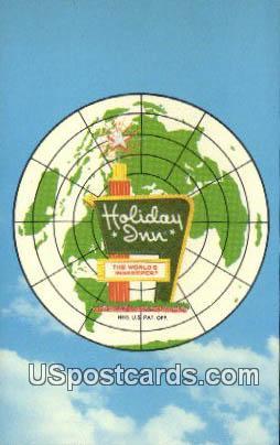 Holiday Inn - Charlottesville, Virginia VA Postcard