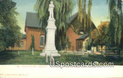 St John's Episcopal Church - Hampton, Virginia VA Postcard