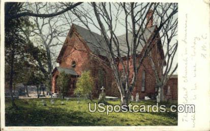 St Johns Church - Hampton, Virginia VA Postcard