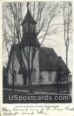 Trinity Episcopal Church - Manassas, Virginia VA Postcard