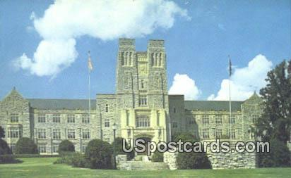 Burruss Hall VPI & SU - Blacksburg, Virginia VA Postcard