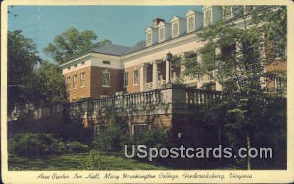 Mary Washington College - Fredericksburg, Virginia VA Postcard