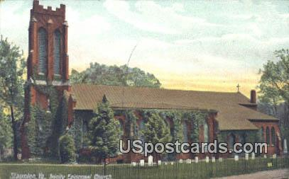 Trinity Episcopal Church - Stauton, Virginia VA Postcard