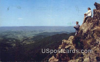 Shenandoah Valley - Shenandoah National Park, Virginia VA Postcard