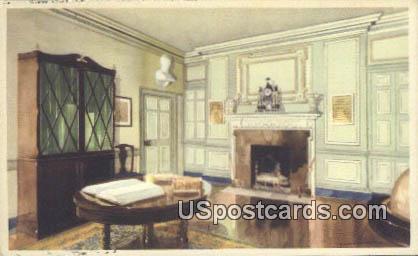 Library - Mt Vernon, Virginia VA Postcard