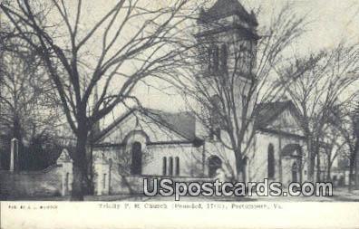 Trinity PE Church - Portsmouth, Virginia VA Postcard