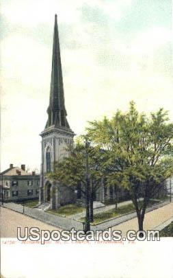 Monument ME Church - Portsmouth, Virginia VA Postcard
