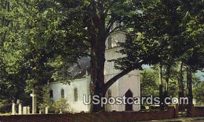 St Johns Church - Tappahannock, Virginia VA Postcard