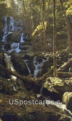 Dark Hollow Falls - Shenandoah National Park, Virginia VA Postcard