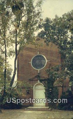 St Mary's Chapel, Chatham Hall - Virginia VA Postcard
