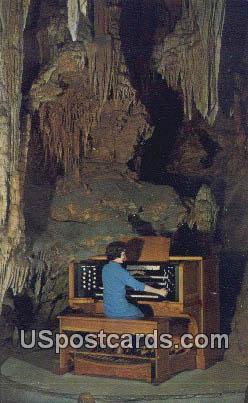 Great Stalapipe Organ - Luray, Virginia VA Postcard