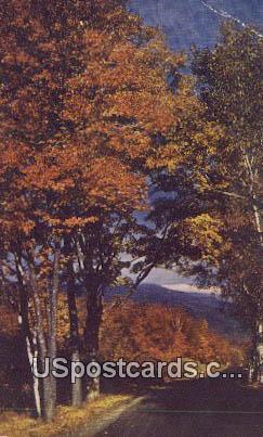 Blue Ridge Mountains, Virginia Postcard     ;       Blue Ridge Mountains, VA