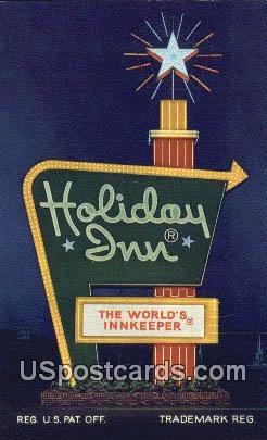 Holiday Inn - Virginia Beach Postcards, Virginia VA Postcard