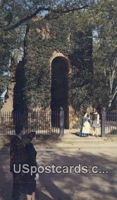 Jamestown Church - Virginia VA Postcard