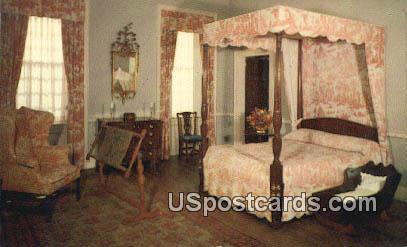 Mother's Room Stratford Hall - Westmoreland County, Virginia VA Postcard