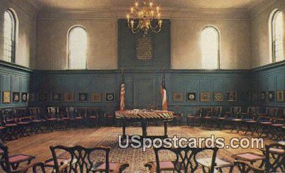 Stratford Hall Council House - Misc, Virginia VA Postcard