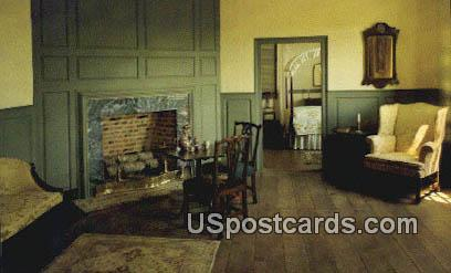 Parlor, Scotch Town - Hanover County, Virginia VA Postcard