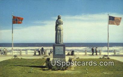 Norwegian Lady - Virginia Beach Postcards, Virginia VA Postcard