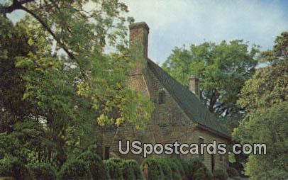 Adam Thoroughgood House - Norfolk, Virginia VA Postcard