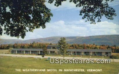 Weathervane Motel - Manchester, Virginia VA Postcard