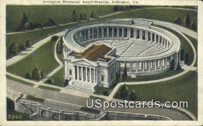 Arlington Memorial Amphitheatre - Arlington National Cemetery, Virginia VA Postcard