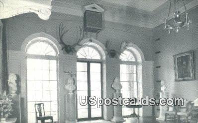 Home of Thomas Jefferson 3rd President - Charlottesville, Virginia VA Postcard