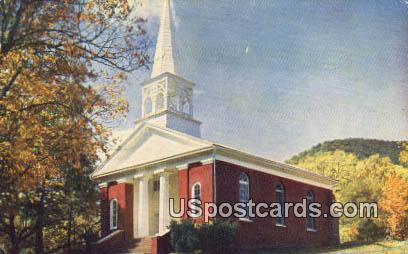 Warm Springs Presbyterian Church - Virginia VA Postcard