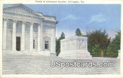 Tomb of the Unknown Soldier - Arlington, Virginia VA Postcard