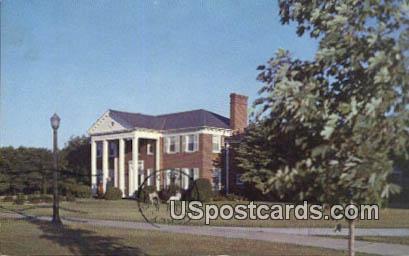 President's House - Radford, Virginia VA Postcard