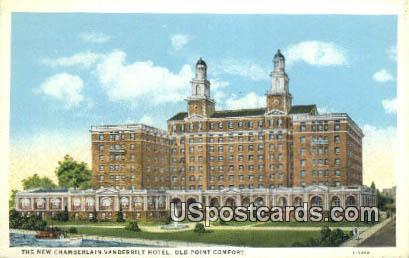 New Chamberlin Hotel - Old Point Comfort, Virginia VA Postcard