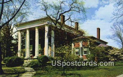 Lee Jackson House - Lexington, Virginia VA Postcard