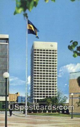 Virginia National Bank Headquarters Building - Norfolk Postcard
