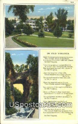 Natural Bridge, Virginia Postcard     ;       Natural Bridge, VA