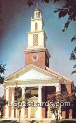 Ocean View Baptist Church - Norfolk, Virginia VA Postcard