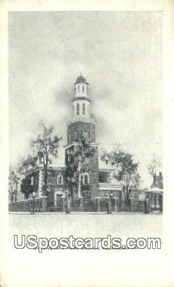 Washington Home Church - Alexandria, Virginia VA Postcard