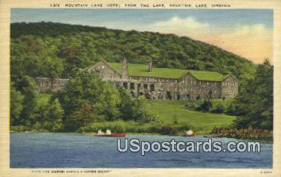 Mountain Lake Hotel - Virginia VA Postcard
