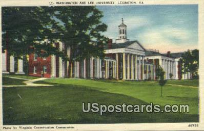Washington & Lee University - Lexington, Virginia VA Postcard