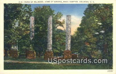 Home of General Wade Hampton - Columbia, Virginia VA Postcard