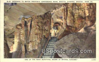 Bristol Caversn - Virginia VA Postcard
