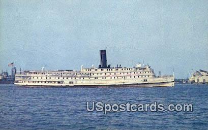 Baltimore Steam Packet Co - Norfolk, Virginia VA Postcard
