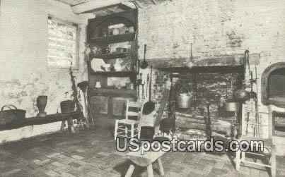 Summer Kitchen, Lee Mansion - Arlington National Cemetery, Virginia VA Postcard