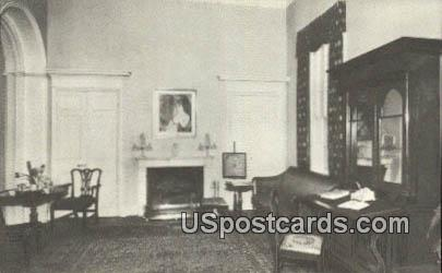 Family Parlor, Lee Mansion - Arlington National Cemetery, Virginia VA Postcard