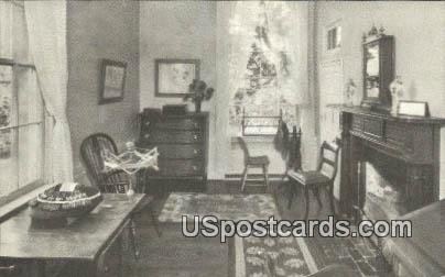 School Room, Lee Mansion - Arlington National Cemetery, Virginia VA Postcard