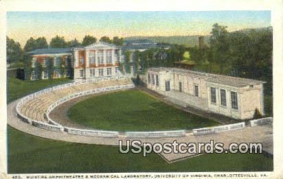 Mechanical Laboratory, University of Virginia - Charlottesville Postcard