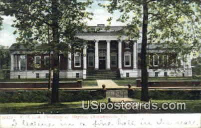 YMCA, University of Virginia - Charlottesville Postcard