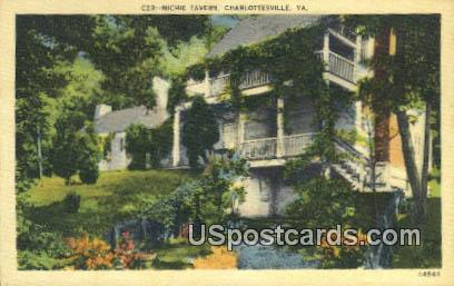 Michie Tavern - Charlottesville, Virginia VA Postcard