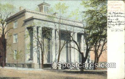 Confederate Museum - Richmond, Virginia VA Postcard