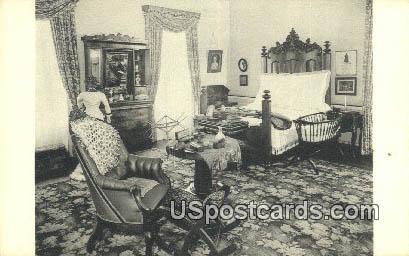 Victorian Bedroom, Valentine Museum - Richmond, Virginia VA Postcard