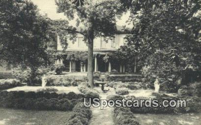 Garden Front, Valentine Museum - Richmond, Virginia VA Postcard